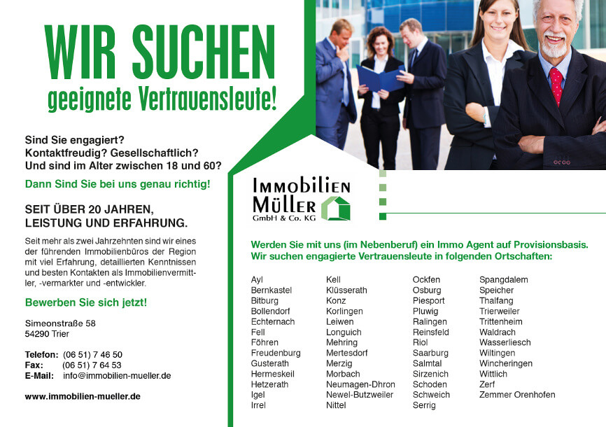 Immobilien Müller Gmbh Co Kg Immobilien Trier Luxembourg